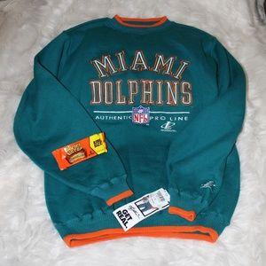 NWT Miami Dolphins NFL Logo Sweatshirt